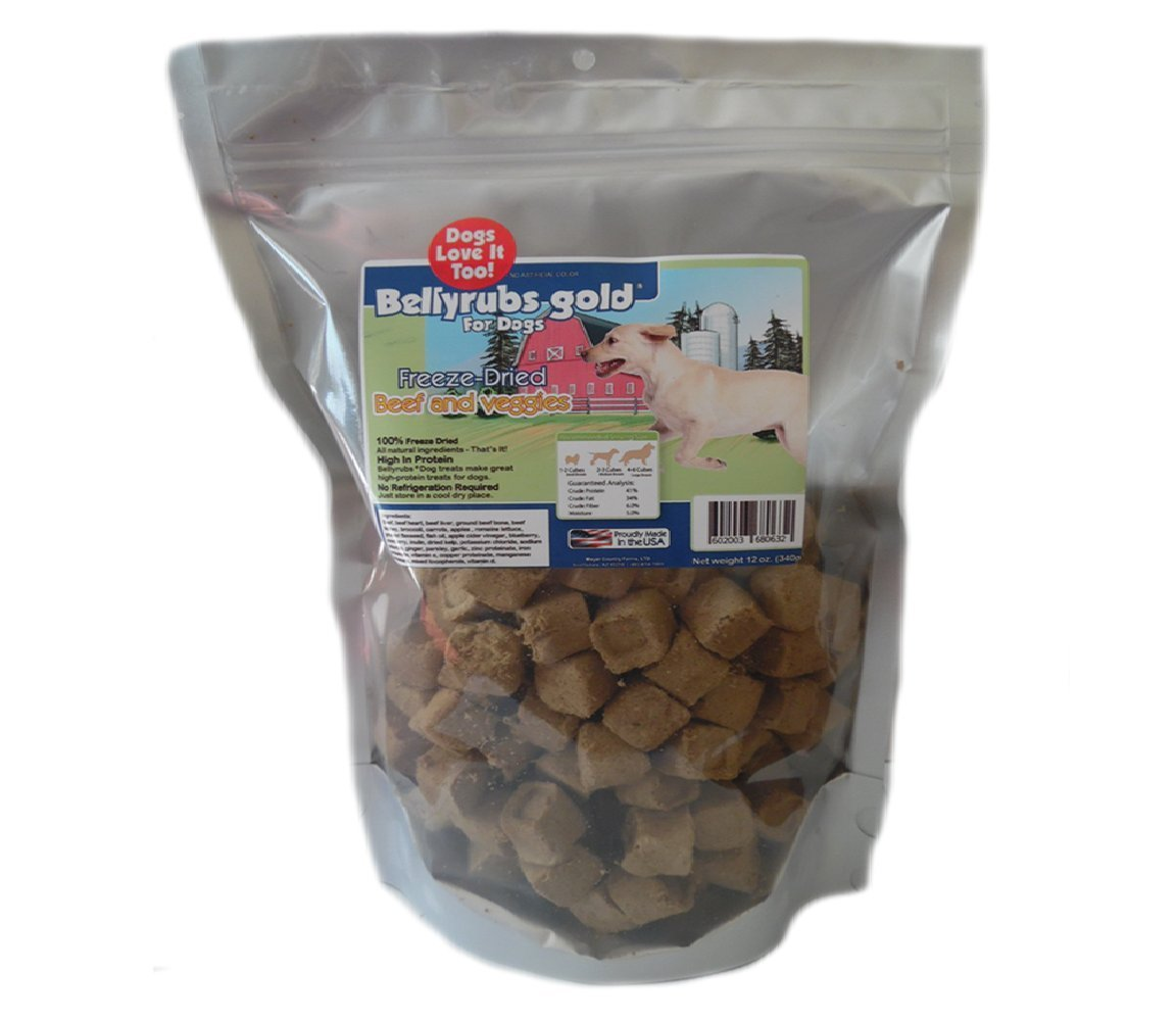 Freeze Dried Beef Amp Veggie 12 Oz Bag